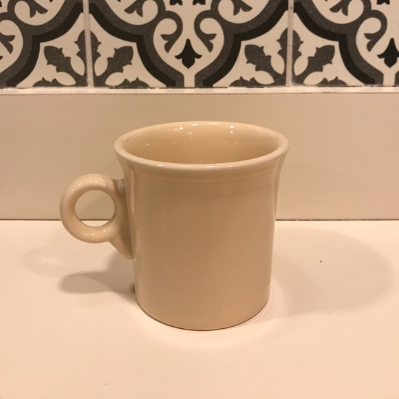 "Fiesta Other - Fiesta ""ivory"" coffee/tea mug"